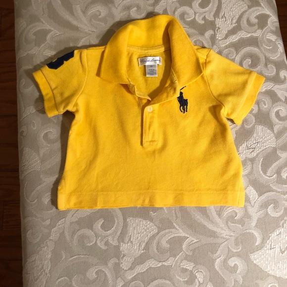 Ralph Lauren Other - Ralph Lauren Cotton Mesh Polo Shirt Sz 3M